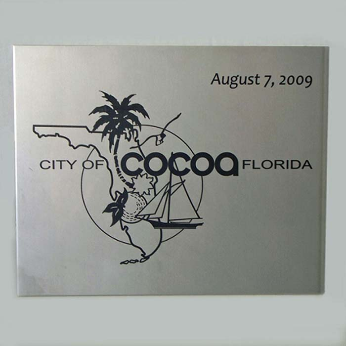 Cocoa Time Capsule Engraved