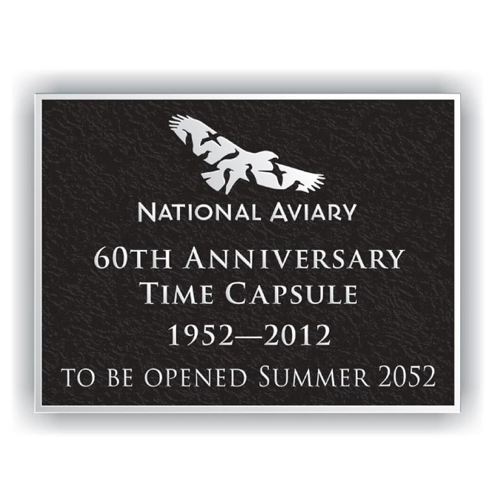 National Aviary Plaque 8x6