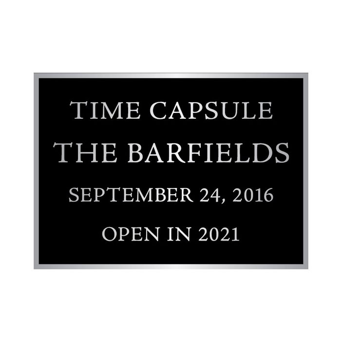 Barfield 7x5 Plaque