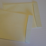 10x13 Archival Paper Envelopes Cream