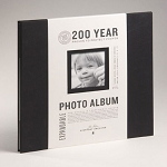 Album Black 12x12 Post-Bound Set with Cream Pages