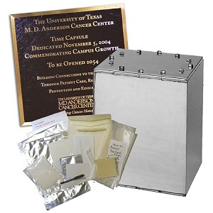 PKG City Manager 14x14x14 Bolted Time Capsule, Medium Kit, 10x12 Plaque