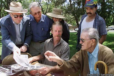 Old Timers Remember the Time Capsule