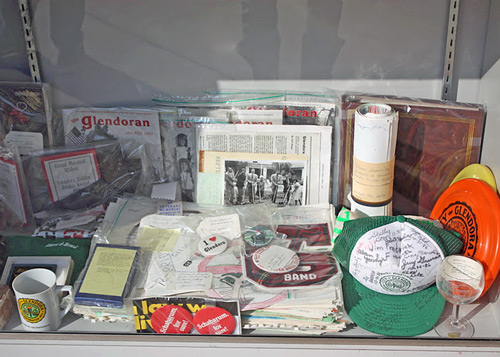 Contents for Glendora's 2011 time capsule