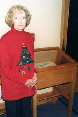 Margaret and her church's time capsule