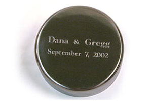 Engraving for Family Time Capsules