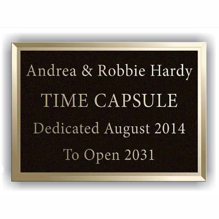 Hardy Bronze Plaque