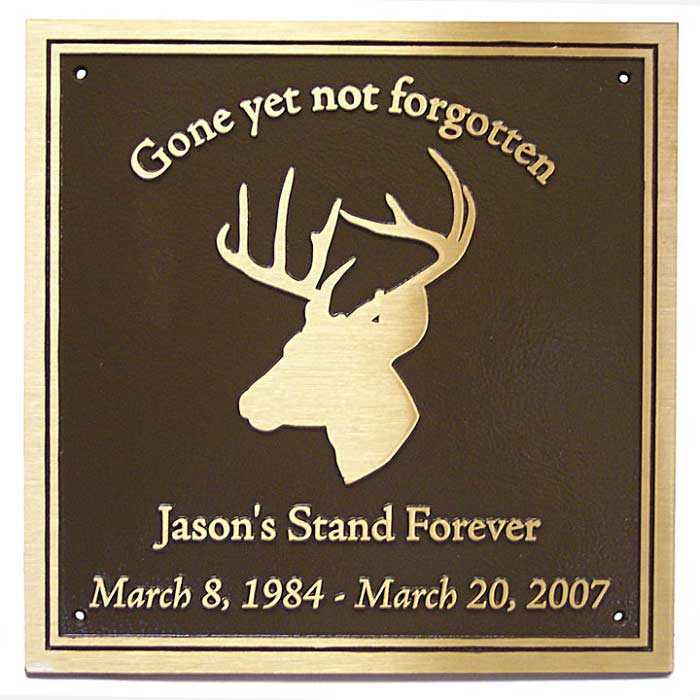 Jason Burns Plaque 12x12