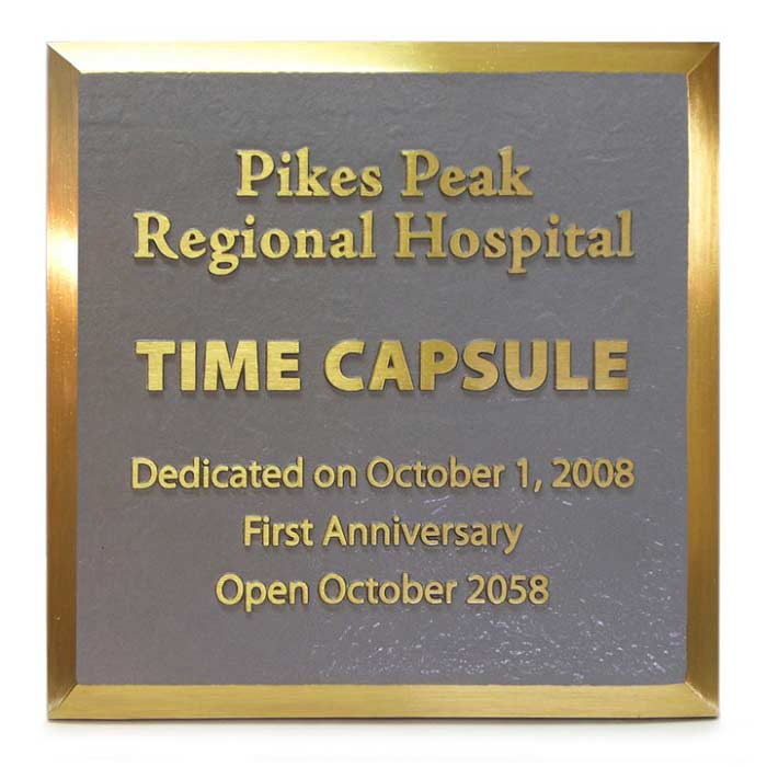 Pikes Peak Hospital Plaque 12x12