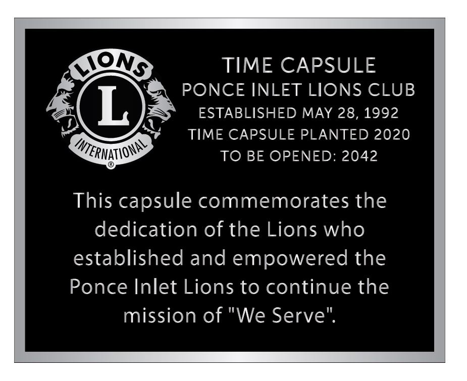 Aluminum Plaque Example