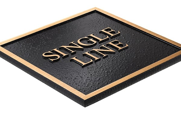 Single Line Border