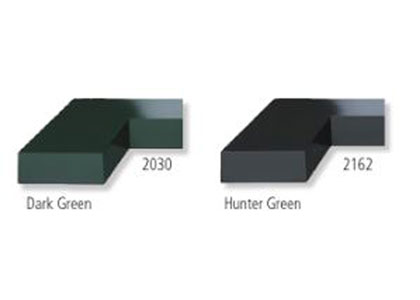 Dark Green and Hunter Green