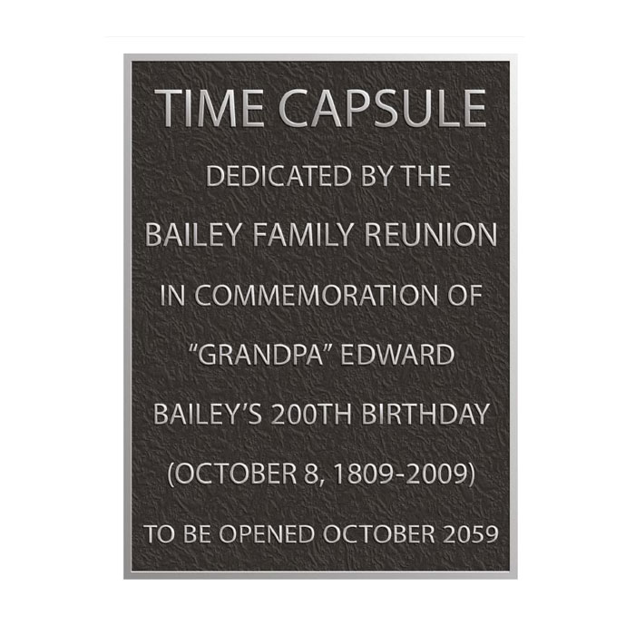 Bailey Plaque 6x8