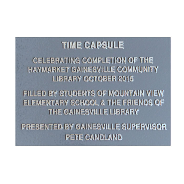 Gainesville 7x5 Plaque