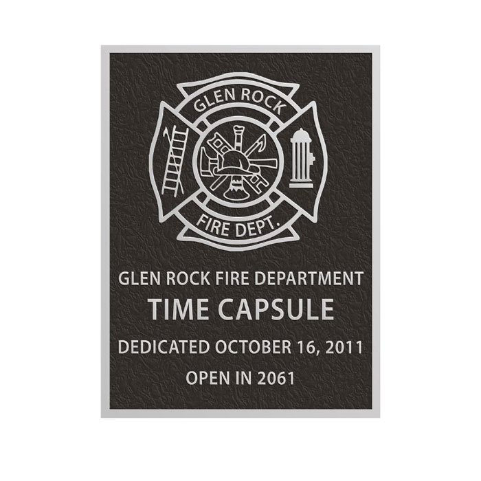 Glenrock Fire Plaque 6x8
