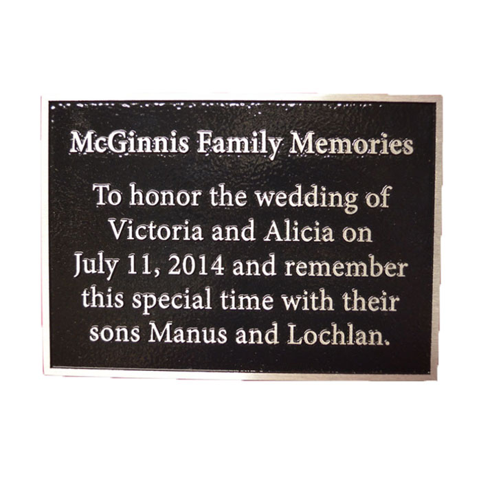 McGinnis Plaque 7x5
