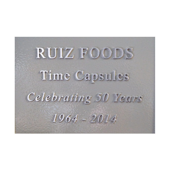 Ruiz Foods 7x5 Plaque
