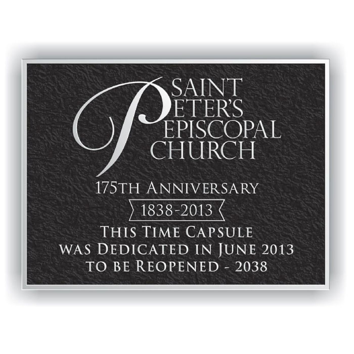 St Peters Plaque 8x6