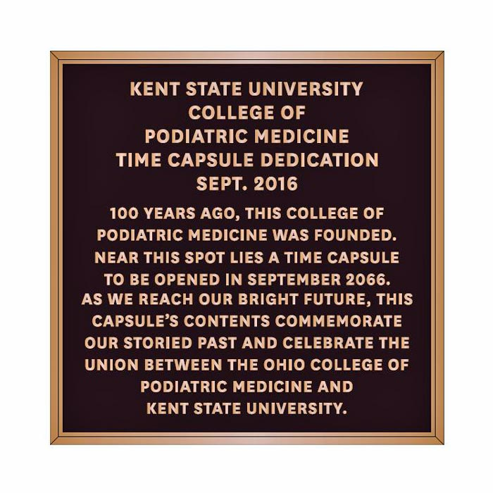 Kent CPM Plaque 12x12