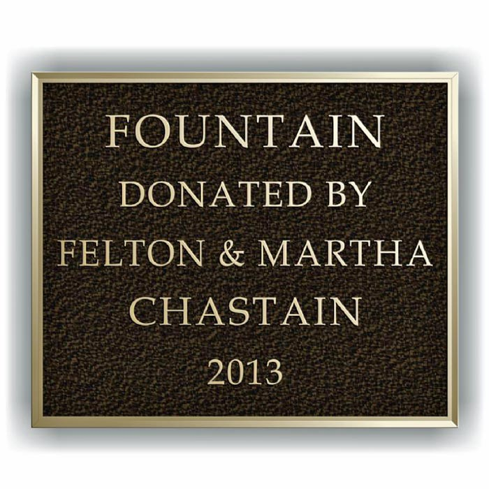 Chastain Plaque 12x10