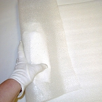 Foam Cushioning White 1/8 x 12 x 24 each
