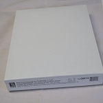 Sleeves Mylar Polyester Letter Heavy Weight Clear Box of 50