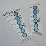 Humidity Indicator Card with 6 Indicators