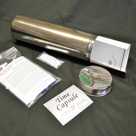 Sally Twistoff Time Capsule with Sealant Kit