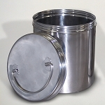 Time Capsule 7x9 Basic Stainless Steel Container