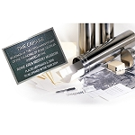 6x24 Family Time Capsule Package Mr Future Stainless with 11624 Kit & 8x10 Plaque