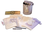 Baby Time Capsule 7x9 Baby Treasures Set with Preservation Kit, Book, Info