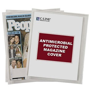 Magazine Covers Anti Microbial pk 25