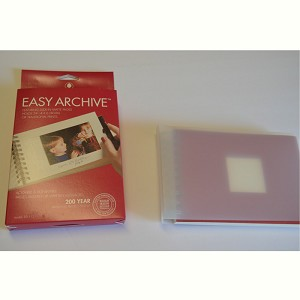 Easy Archives Photo Book for 4x6 Photos or Cards