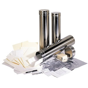 6x24 Stainless Steel Time Capsule Mr. Future Cylinder Container