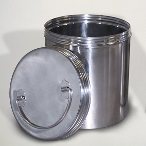 Time Capsule 7x9 Basic Stainless Steel Container Basic