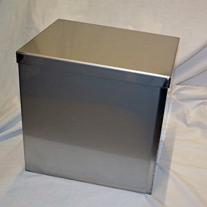 "Andromeda Time Capsule 12"" L x 9"" W x 12"" High"